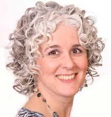 gorgeous gray hairdo for older women gorgeous gray curly hairstyle