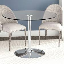 circle glass dining table 60cm round glass dining table