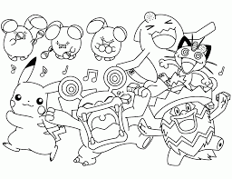 Difficile Pokemon Coloriages Pokemon Coloriages Pour Enfants