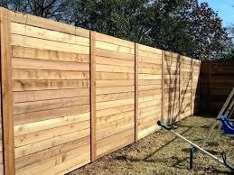 horizontal fence diy horizontal fencing horizontal wood