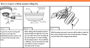 how remove hampton bay flush mount ceiling fan the rta fans exhaust island light fixtures small