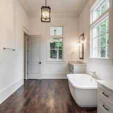 bathroomextraordinary vaulted ceiling lighting nancy. Tub Flanked By Washstands Bathroomextraordinary Vaulted Ceiling Lighting Nancy