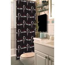 NFL Atlanta Falcons Decorative Bath Collection Shower Curtain ...