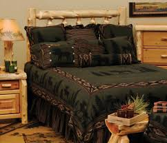 cabin style bedding. Exellent Cabin Moose 1 Lodge Decor Bedding To Cabin Style D
