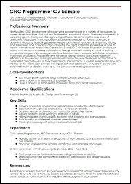 Cnc Programmer Resume Samples Best Of Cnc Programer Salary Programmer Resume Template Free Word Excel
