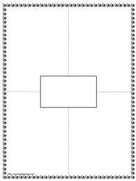 Frayer Template Blank Worksheets