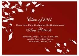 Graduation Party Announcement Graduation Card Examples Samples Of Graduation Party Invitations