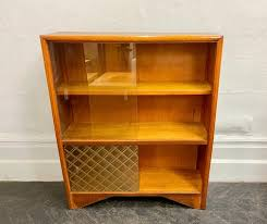 vintage bookcase or glass cabinet for