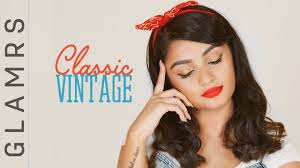 the pin up makeup look clic vine 1980 s makeup tutorial glamrs