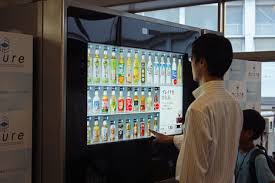 Touch Screen Vending Machine Magnificent Touchscreens Go Mainstream For Tokyo Vending Machines Core48