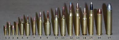 Centerfire Bullet Size Chart List Of Rifle Cartridges Wikipedia