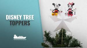 Disney Mickey And Minnie Mouse Light Up Holiday Tree Topper Great Disney Tree Toppers Ideas Christmas Trends 2018