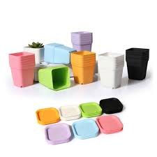 office flower pots. Office Flower Pots. 10pc Pastel Bottom Bracket Garden Home Decor Planter Plastic Pots