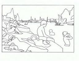 Small Picture Famous artwork coloring pages great for trading cards rewards