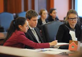 photos teens gain legal system insights at mock trial