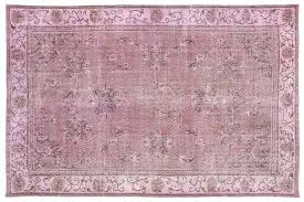 over dyed rug vintage pink rug 1 overdyed persian rugs
