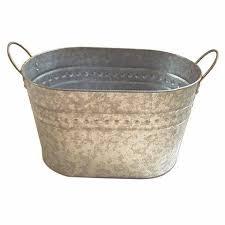 Galvanized Tin Bucket/ Metal Tub/ Ice Bucket image