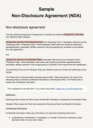 Mutual Confidentiality Agreement Free Mutual Non Disclosure Agreement Template 28