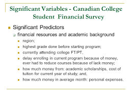 average monthly expenses college student canadian college student attrition for student aid receivers by