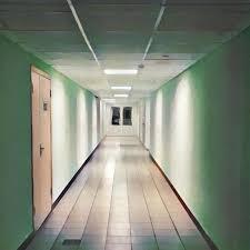 interior school doors. Download Clean Corridor Leading To Closed Doors. Digital Illustration Of School Or Office Building Interior Doors S