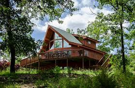 al exterior at branson vacation houses