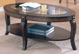 oval glass top coffee table coffee table breathtaking oval glass top inside designs 7 amazing intended