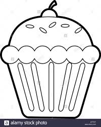 cupcakes drawing black and white.  Drawing Cupcake Black And White Drawing At  Getdrawings  Free For Throughout Cupcakes A