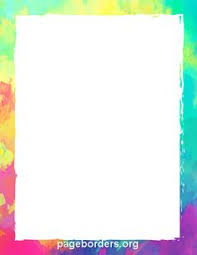 Rainbow Page Border 720 Best Page Borders And Border Clip Art Images Border Templates