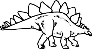 Dinosaurus Kleurplaat Dieren Kleurplaat Animaatjesnl