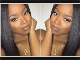 highlight and contour tutorial for light skin lovely black woman makeup contours foundation on