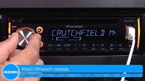 pioneer deh x3700ui car receiver demo crutchfield video