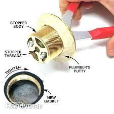 remove bathtub drain stopper bathtub drain stopper bathroom sink stopper removal how to convert bathtub drain