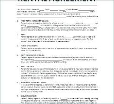 Lease Agreement Form Home Lease Agreement Template Free Printable ...