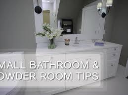Small Bathroom Design Tips Video HGTV Unique Small Bathroom Design Tips