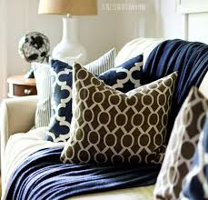 fall decor ideas in navy white board and batten living room with navy painted