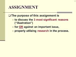 researched illustration essay a k a example essay ppt researched illustration essay a k a example essay 2 2 assignment