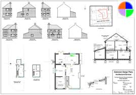 floor plans for house extension. photograph showing our builders plans floor for house extension