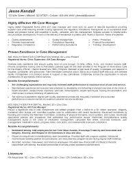 Nurse Manager Resume Delectable Case Management Duties Case Manager Resume Objective Management Job