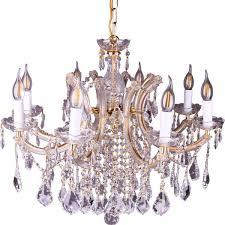 modern crystal chandelier golden 8 bulb led lighting by al hayek