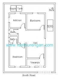 vastu plan for south facing plot 1