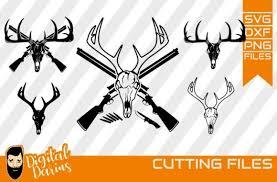 Free svg image & icon. 5x Deer Hunt Svg Deer Head Svg Graphic By Digitaldarius Creative Fabrica In 2020 Svg Deer Head Graphic Illustration