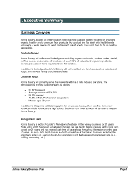 Bakery Business Plan Plans In India Pdf Online Template