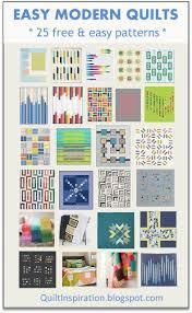 Modern Quilt Patterns Impressive Quilt Inspiration Free Pattern Day Easy Modern Quilts 48