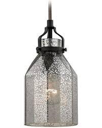mercury glass lighting fixtures. elk lighting minipendant light with mercury glass 46009 1 fixtures r