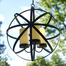 pleasant oasis candle sphere chandelier outdoor living prod jpg