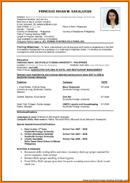 5 Experience Resume Format Doc Points Of Origins