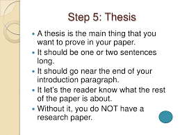 writing a research paper in easy steps step