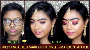 wedding guest makeup tutorial step by step india