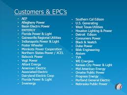 customers epc s aep southern cal edison allegheny power