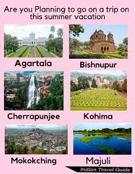 10 Best Places To Visit In North-East India This Summer Vacation   best  hotels   summer season   tourist places  Indian Travel Guide.   Tourist  places, Cool places to visit, Vacation